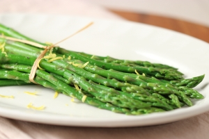 Asparagus with Lemon Butter