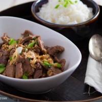 Thai Caramelized Pork Stir-Fry (Muu Waan)