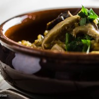 Risotto with Country Mushrooms (Risotto ai Funghi)