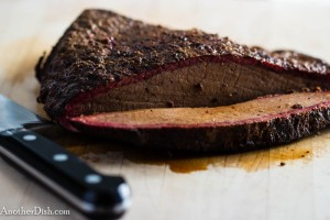 "Smoked Brisket of Beef with Flavorful ""Dry Rub"" (1 of 1)"