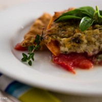 Tomato and Gruyère Tarte