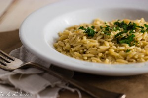 Orange_Thyme-Scented Orzo